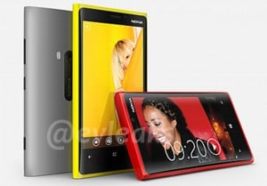 Nokia Lumia 920 With PureView And Lumia 820 Images Leaked Online