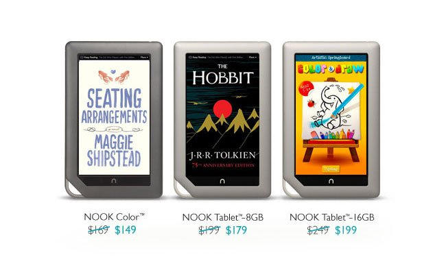 Nook Prices