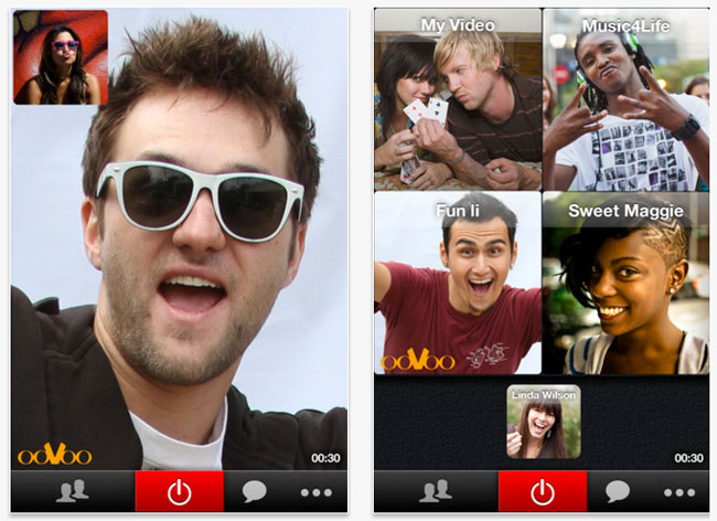 OoVoo Video Chat Apps Updated With Simultaneous 4-Way Connections