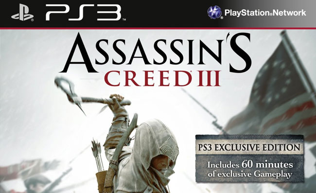 Assassin's Creed 3 PS3 bundle