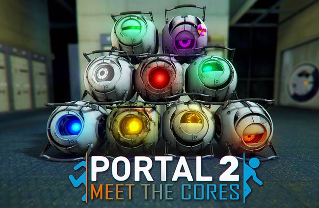 Portal 2 Meet The Cores