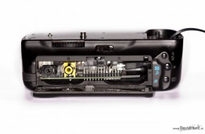 Raspberry Pi Canon 5D Mark II Battery Grip Hack