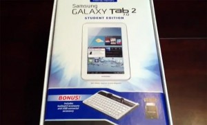 Samsung Galaxy Tab 2 (7.0) Student Edition Launched (Video)