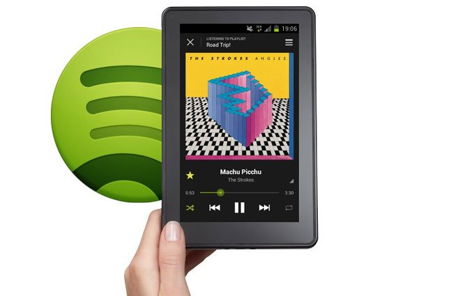 Spotify Kindle Fire