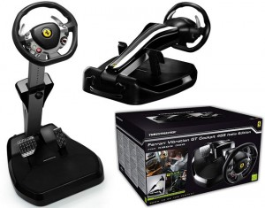 Thrustmaster Ferrari Vibration GT Cockpit 458 Italia Edition and Ferrari Xbox 360 Controller Unveiled