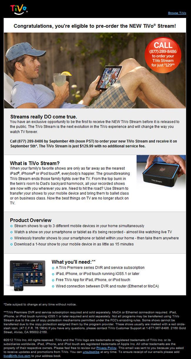 TiVo Stream Pre-order