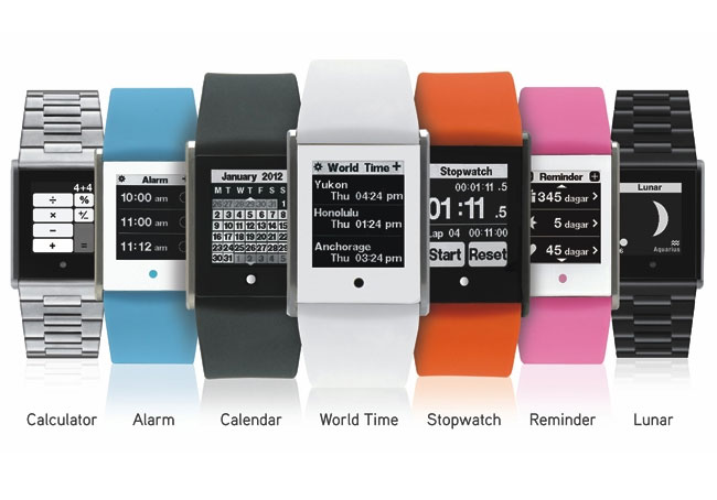 Touch Time Watch Created By Phosphor