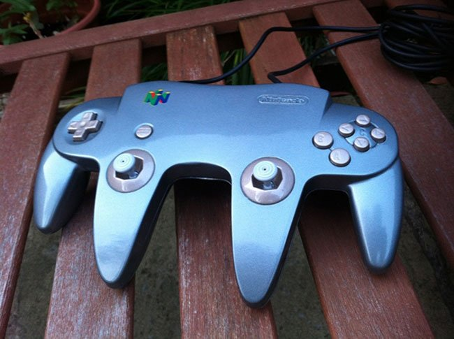 Two N64 Controllers Combined