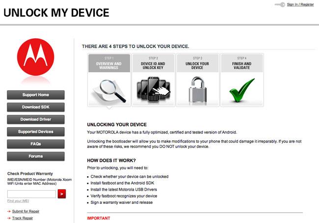 Unlock My Device