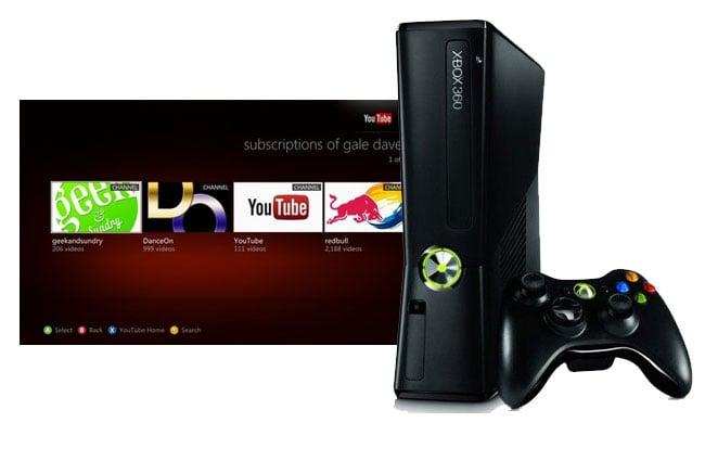 YouTube Xbox Live App