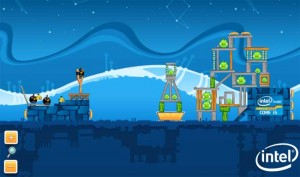 Intel Themed Angry Birds Game Hits Facebook
