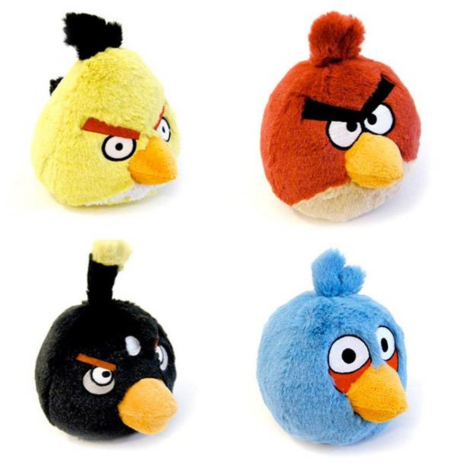 Angry Birds Stuffed Toys : Angry birds toys to make rovio happy this year making