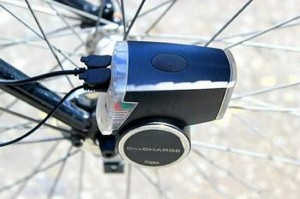 BikeCharge Dynamo charges your gadgets on the go