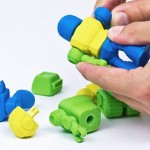 Cubify's 3D-printed toy robots have interchangeable parts