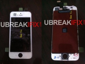 iPhone 5 front panel shows up in new photos