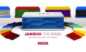 Jawbone JamBox Speaker Receives Custom Colours