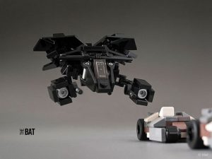 Sci-Fi vehicles recreated in LEGO