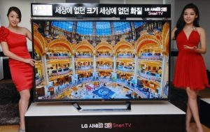 4K 84-inch ultra HDTV from LG ships worldwide next month