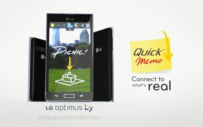 LG QuickMemo