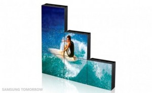 Samsung announces LED square display