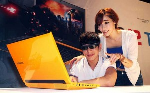 Samsung Updates Series 7 Gamer Laptop with 3-D Screen