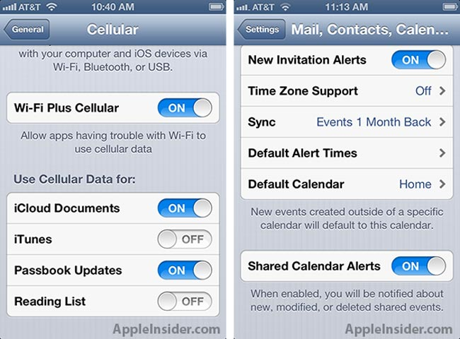 WiFi Plus Cellular Option Discovered In IOS 6 beta 4