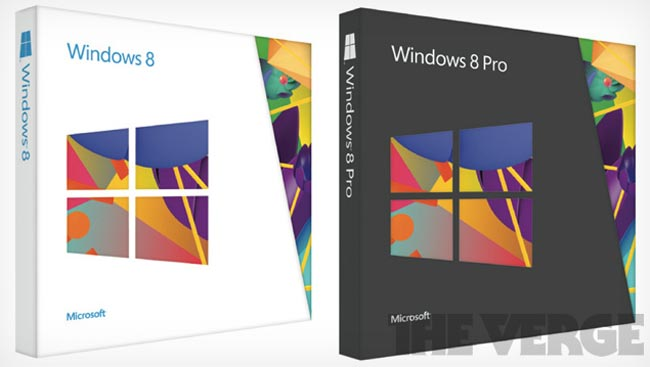 Microsoft's Windows 8 Packaging Leaked