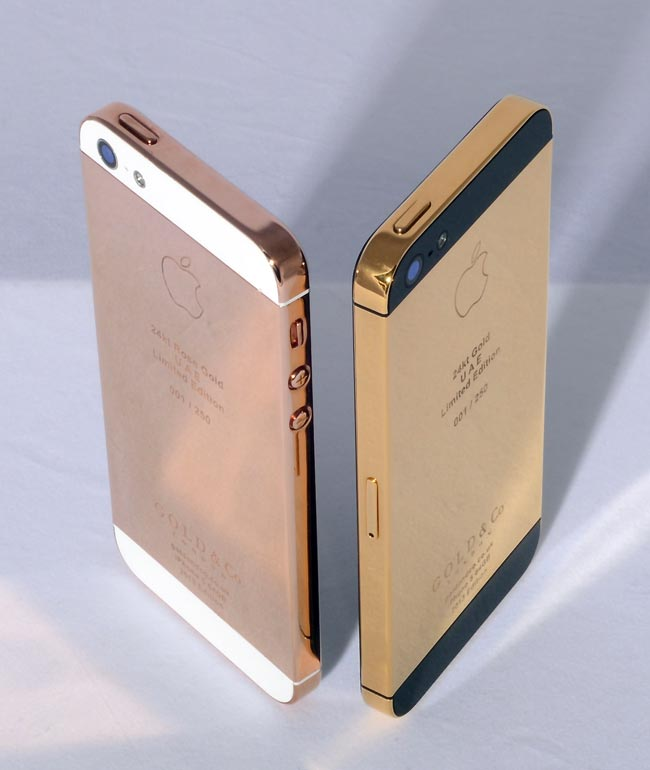 Rose Gold iPhone 5