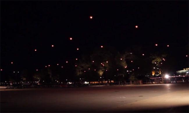 50 Quadrocopters