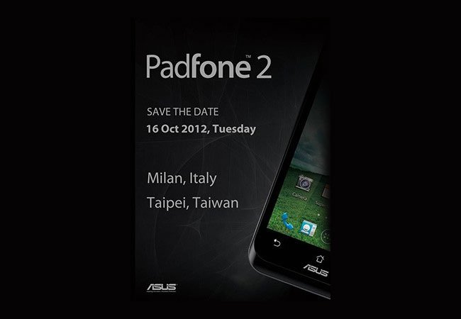 Asus Padfone 2 Launch Event Announced