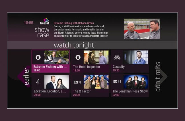 Freesat Free Time TV Guide
