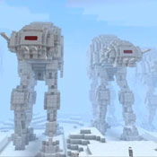 Star Wars Death Star Run And Battle For Hoth Minecraft Style (video)