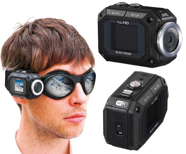 JVC ADIXXION Action Camera