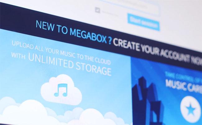 Megabox, unduh musik gratis yang legal