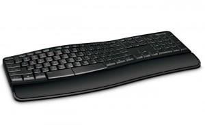 Microsoft Sculpt Comfort Keyboard Sports Dual Purpose Spacebar