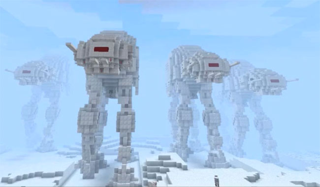 Minecraft Battle for Hoth