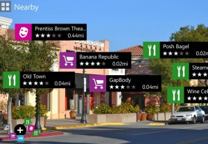 Nokia City Lens Augmented Reality Feature For Windows Phone 8