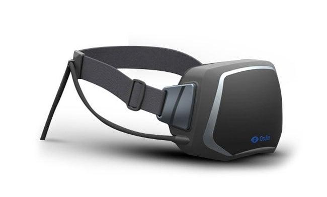 Oculus Rift Virtual reality hedset