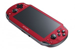 Sony PS Vita Cosmic Red And Sapphire Blue Consoles Unveiled