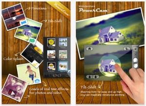 PowerCam Photo Editing iPhone