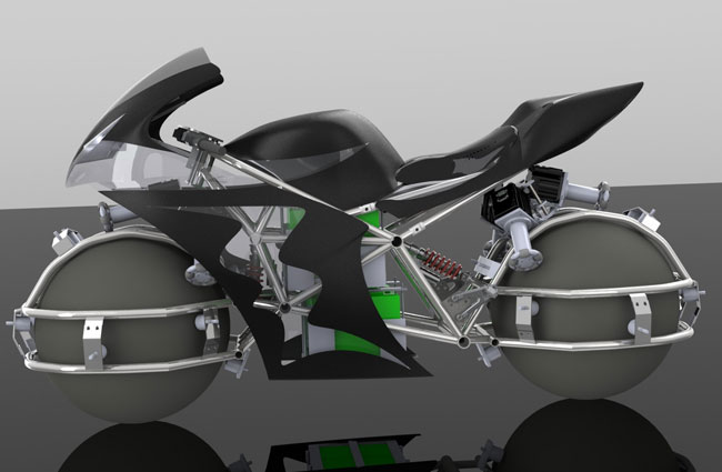 Spherical-Drive-System-Bike