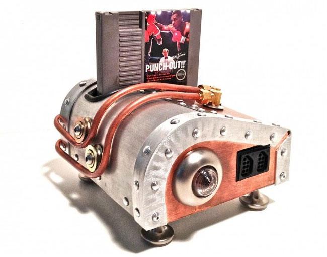 Steampunk Nintendo Case