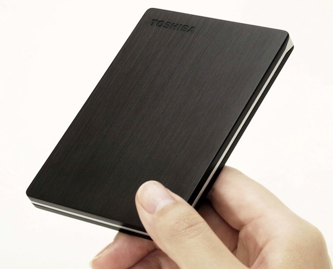 Toshiba Canvio Slim Portable HDD