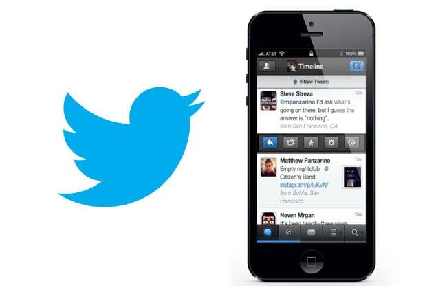 Twitter iOS 6