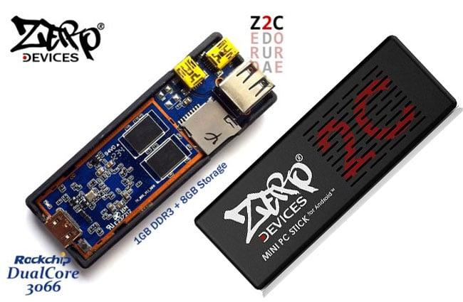 Zero Devices Z2C Rockchip RK3066 Android Mini PC Announced