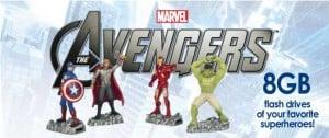 The Avengers Action Figure Flash Drives Hit Best Buy