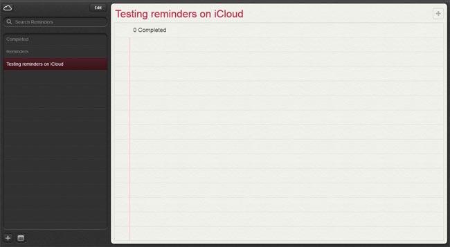 iCloud Reminder