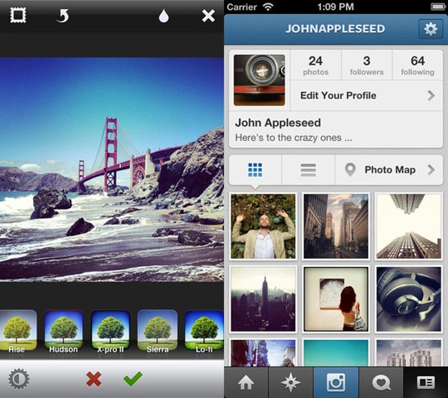 Instragram For iOS Updated To Support New iPhone 5, iOS 6