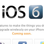 Apple's iOS 6 Will Be Released Later Today