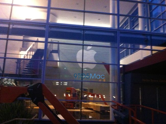 Apple Starts Prepping Yerba Buena Center For iPhone 5 Release Event